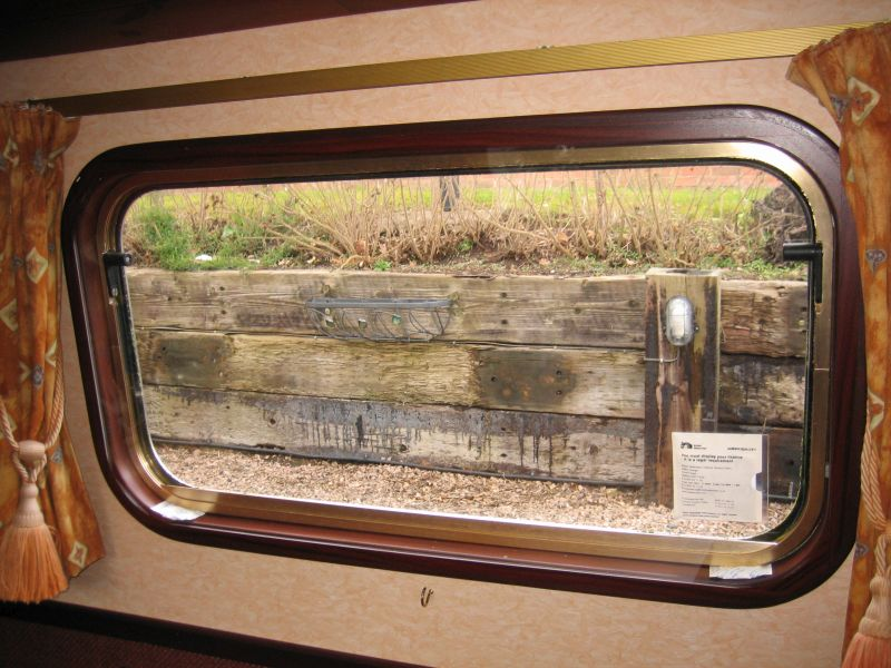 Extraglaze Secondary Glazing - Canal boats