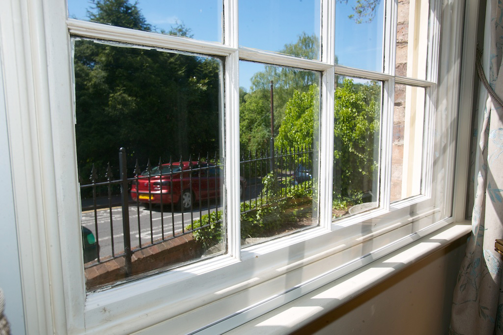 Extraglaze Secondary Glazing - On sash windows