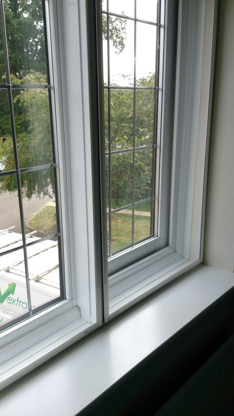 Extraglaze Secondary Glazing - On PVCu windows (for sound proofing)